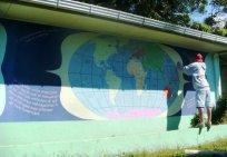 la cruz de abangares, costa rica mural, peace corps mural, ashburn mural artist, artist dave white, loudoun mural artist