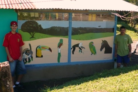"""art with meaning"", ""mural"", ""Costa Rica"", ""La Cruz de Abangares"", ""Monteverde"", painting, art, artist, ""custom painting"""