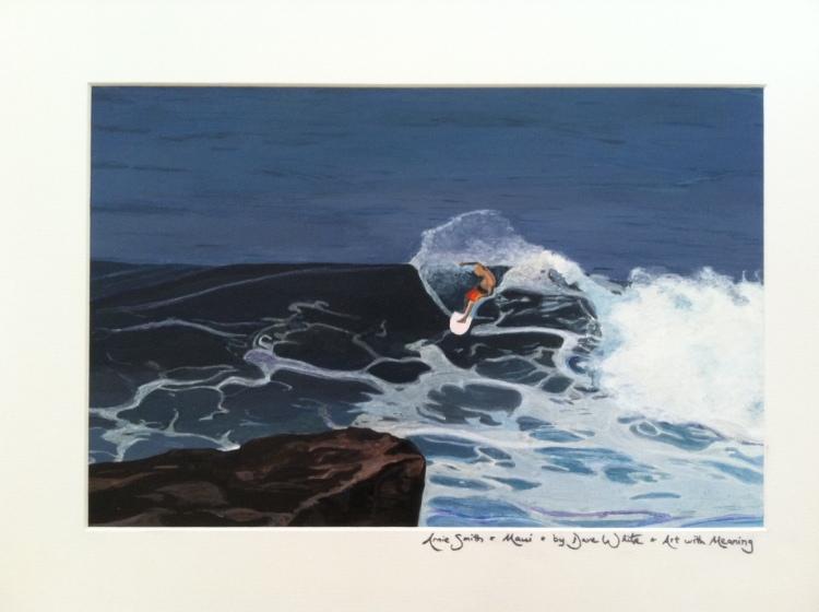 """""""surf art"""", """"maui art"""", """"hawaii art"""", """"surfer art"""", """"art with meaning"""""""