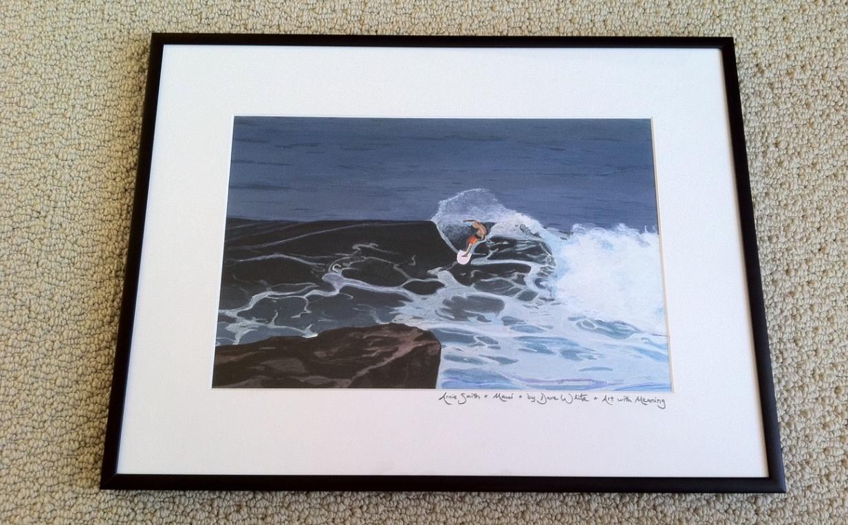 """""""surf art"""", """"surfer art"""", """"Maui art"""", """"Hawaii art"""", """"custom art"""", """"art with meaning"""""""
