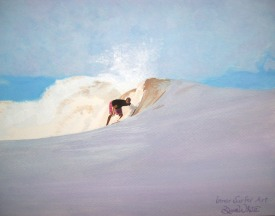 """surf art"", ""surf painting"", ""inner surfer art"", ""costa rica art"", ""custom art"", ""dave white painting"", ""dave white art"""