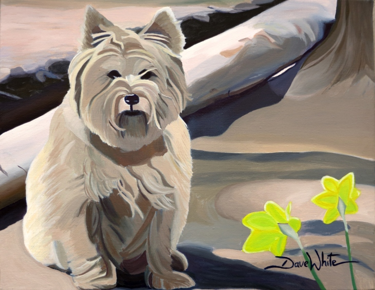 """dog painting leesburg"", ""dog painting virginia"", ""dog painting northern virginia"", ""dog portrait"", ""dave white painting"""