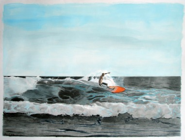 """surf art"", ""inner surfer art"", ""surfer art"", ""costa rica art"", ""dave white painting"", ""dave white art"""