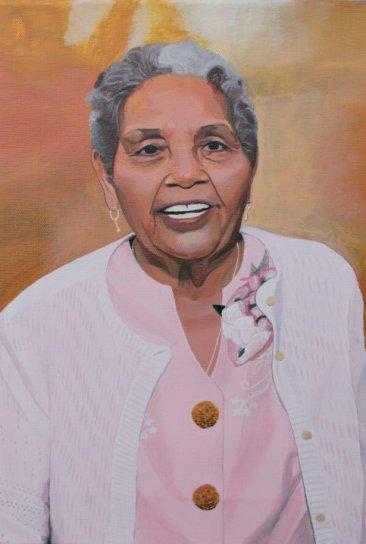"""""""Rafaela Corrales de Toruño"""", """"portrait art"""", """"portrait painting"""", """"dave white painting"""", """"dave white art"""""""