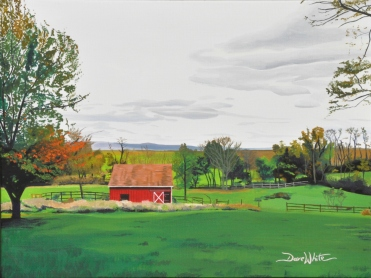 """""""west virginia painting"""", """"barn painting"""", """"farm painting"""", """"dave white painting"""", """"rural painting"""", """"country painting"""", """"red barn"""""""