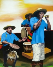colombian music, colombian art, colombian painting, colombia, art, painting, don abundio y sus traviesos, colombia art, colombia painting, latin art, latin music, latin painting, hispanic art, hispanic painting