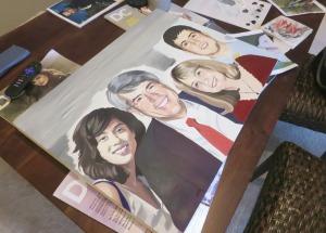 """""""family portrait painting"""", """"portrait painting"""", """"portrait art"""""""