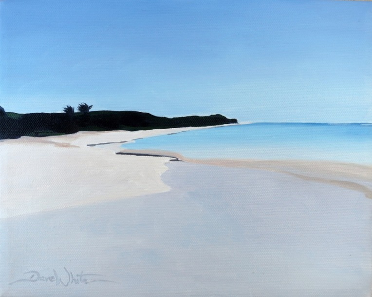 flamenco beach puerto rico painting, flamenco beach art, puerto rico painting, puerto rico beach art