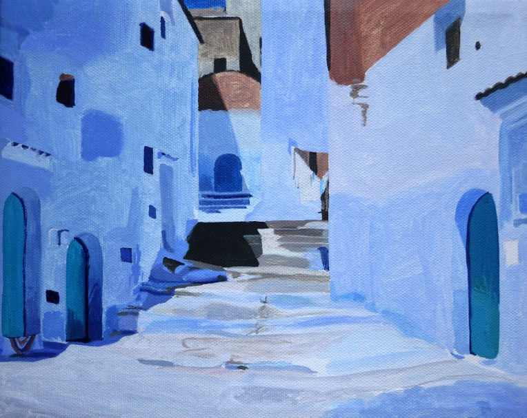 Work in Progress - Chefchaouen, Morocco
