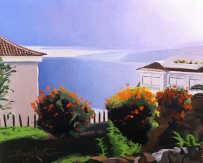 Tenerife, Canary Islands, painting