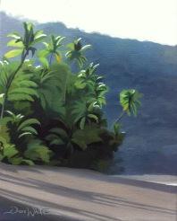 costa rica painting, costa rica art, corcovado painting, Corcovado, Costa Rica, Beach, Ocean, Tropical, Oil Painting, Artist Dave White, Beach Painting, dave white art, dave white paintings
