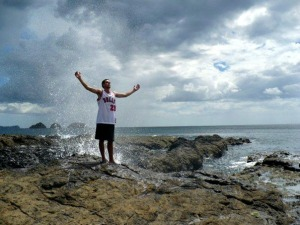 Costa Rican Ocean God