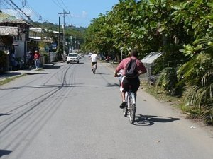 Bike Ride to Manzanillo, Costa Rica