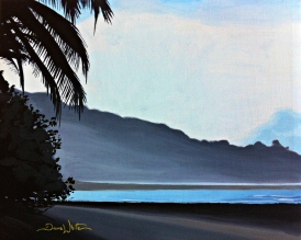 corcovado painting, corcovado beach art, corcovado costa rica art