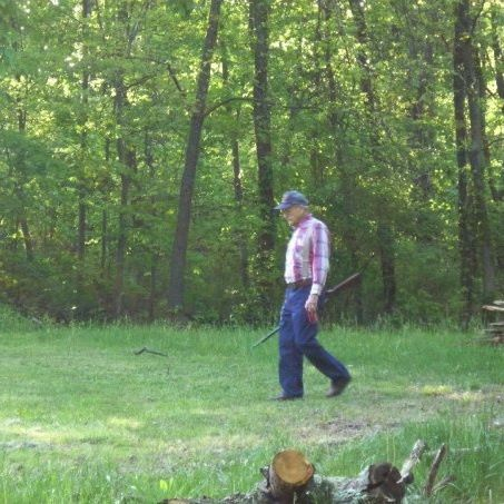 Papaw in Backyard