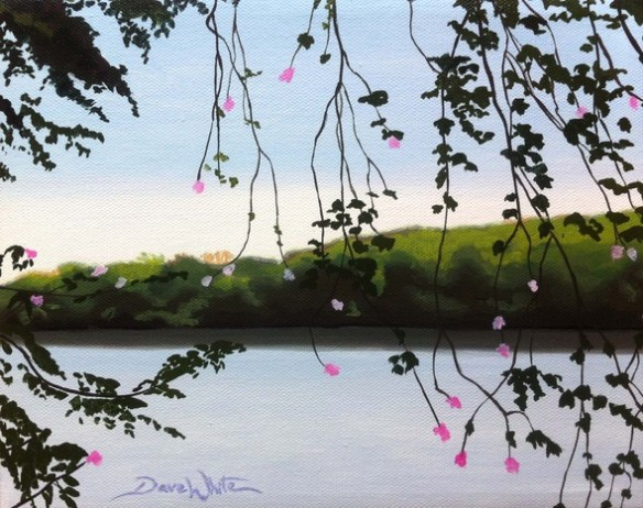 potomac river painting, potomac painting, dave white artist, loudoun artist, ashburn artist, northern virginia artist, virginia artist, river painting, buy art, buy paintings, buy from artist