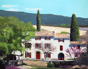 """la tuiliere france"", ""custom painting"", ""custom oil painting"", ""custom art"", ""france painting"", ""commission art"", ""commission a painting"", ""artist dave white"""