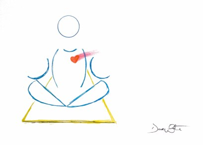 """yoga art"", ""easy pose yoga"", ""yoga illustration"", ""dave white art"", ""yoga drawing"""
