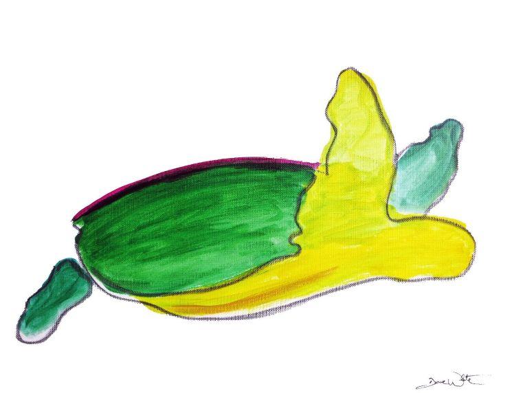 turtle painting, turtle art, sea turtle painting, sea turtle, dave white art, dave white artist, ashburn artist, loudoun artist, leesburg artist