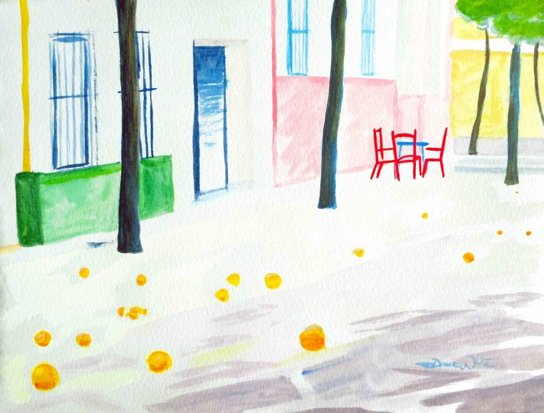 sevilla painting, sevilla art, seville painting, seville art, spanish art, spanish painting, spain art, spain painting, artist dave white, dave white art, dave white paintings