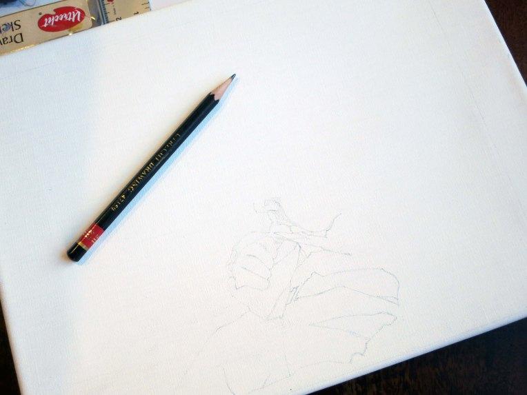 portrait sketch rafael