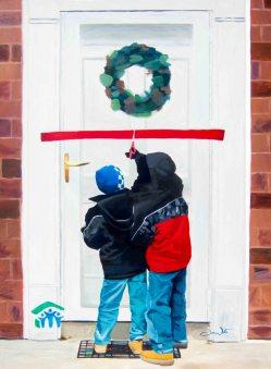 "mural, artist dave white, ""a place to call home"", ""loudoun habitat for humanity"", ""habitat for humanity"", ""a place to call home painting"", ""nonprofit painting"", ""loudoun art"""