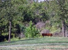 one loudoun, one loudoun photography, bench, photography, artist dave white, saranac linear park