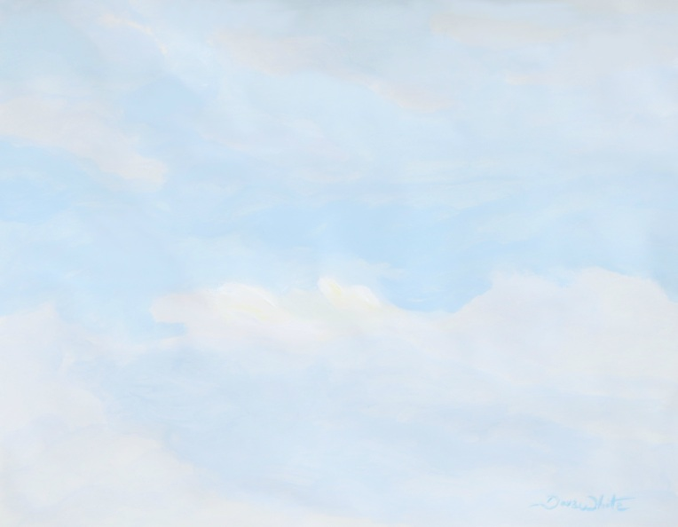sky painting, sky, painting, watercolor sky, clouds painting, artist dave white