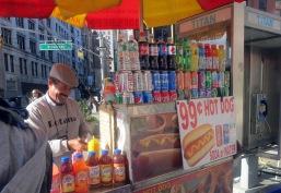 Union Square Park, Hot Dog Vendor, New York City