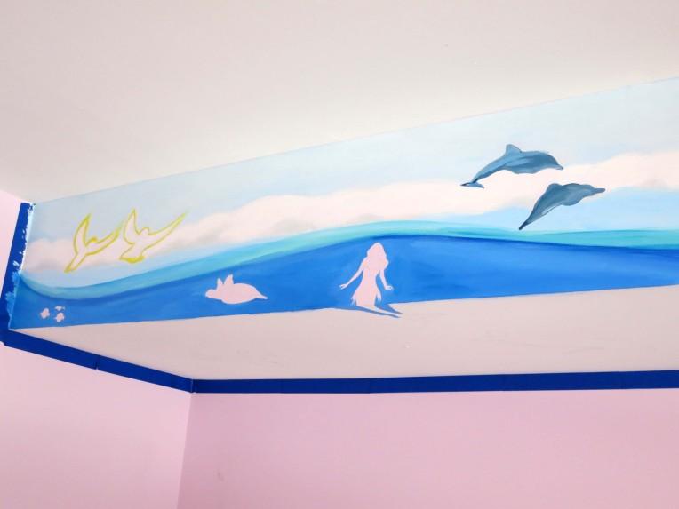 Ocean Life Mural 1