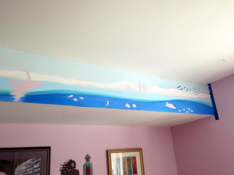 Ocean Life Mural 2