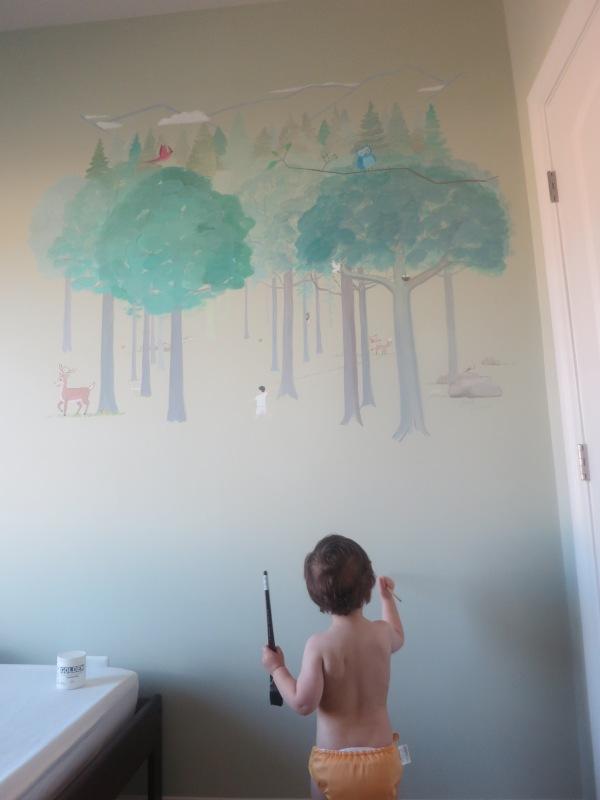 Rafael Painting Mural
