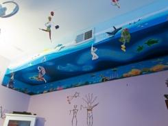 ocean mural, sea mural, mural, ashburn mural