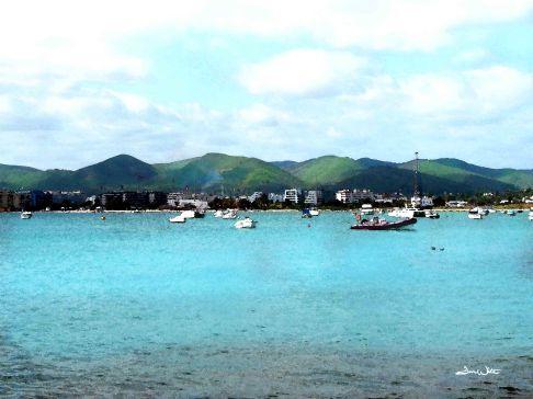 ibiza, mediterranean, balearic islands, spain, spanish, ocean, sea, photography, art