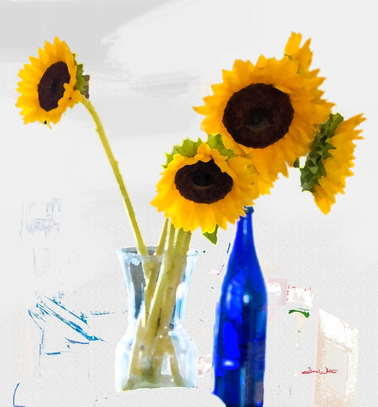 sunflower art, sunflower photography, sunflower painting, floral art, floral photography, floral painting, floral decor