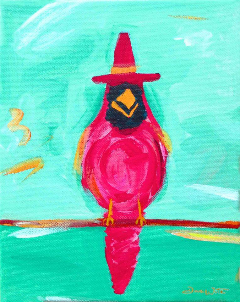 cardinal painting, red bird painting, cardinal bird painting, red cardinal bird painting, cardinal art, red bird art, red cardinal art, red cardinal, cardinal, red bird