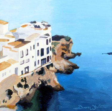 ibiza, ibiza art, ibiza painting, spain art, spanish art, spanish painting, seascape painting, seascape art