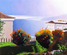 tenerife, tenerife art, canary islands, spanish art, spanish painting, spain art, tenerife painting, seascape painting