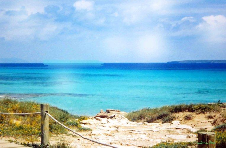 beach art, beach photography, beach decor, beach painting, formentera, spanish art, spain art, spanish photography, spain photography, formentera beach, turquoise water