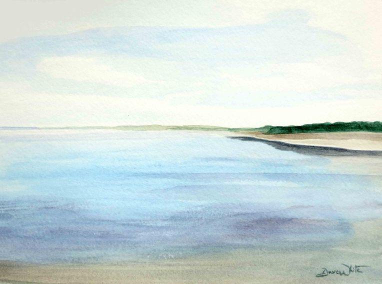 beach art, beach painting, seascape, beach landscape, seascape painting, costa rica painting, costa rican art, costa rican painting, costa rica art, artist dave white, dave white art