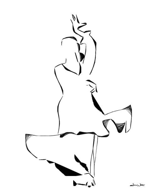 flamenco art, flamenco dancer, flamenco drawing, spain art, spanish art, spain drawing, spain art, dance art, dance drawing, dancer, flamenco