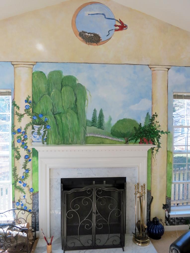 mural restoration, mural enhancement