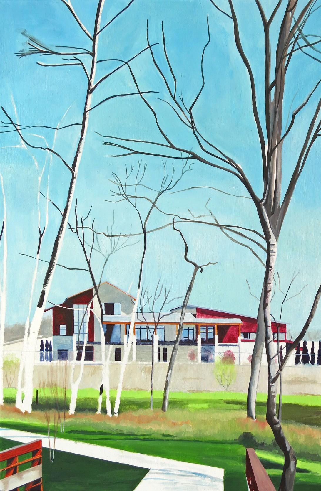 """ashburn artist, ashburn art, one loudoun, """"the barn at one loudoun"""""""