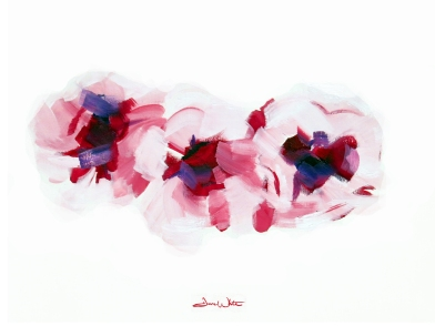 """""""cherry blossoms painting"""", """"cherry blossoms art"""""""