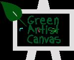 """""""green artist canvas"""""""