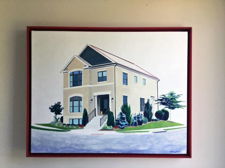 """house portrait painter"", ""house portrait painting"", ""commission painting of my house"""