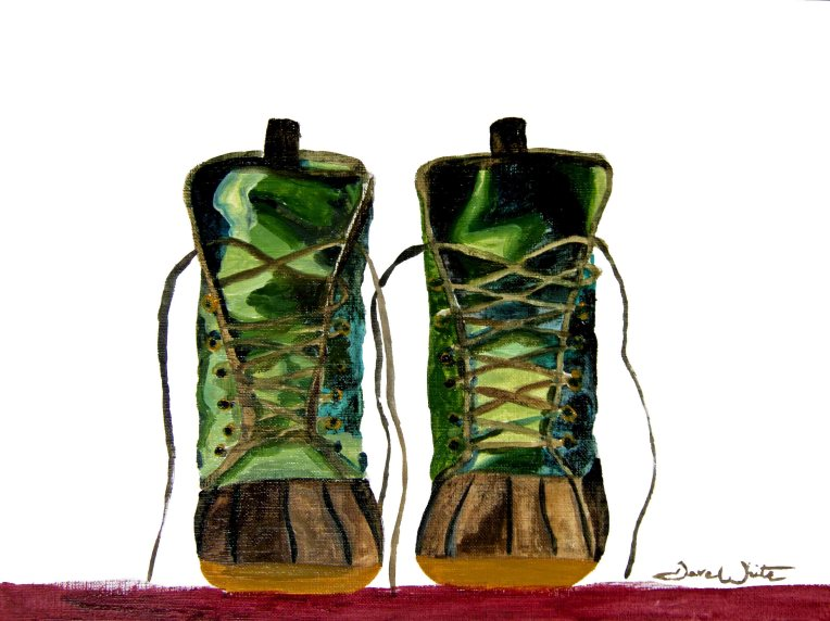 """boots painting"", ""mens shoes painting"", ""men's shoes painting"", ""shoes painting"", ""shoe art"""