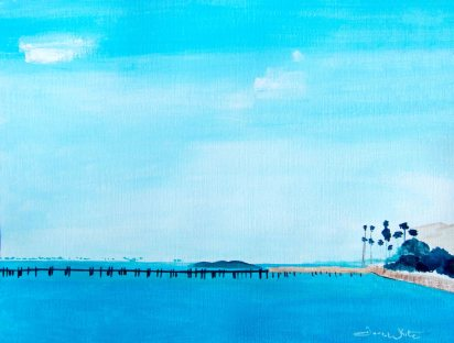 """florida beach painting"", ""florida beach art"", ""beach painting"", ""beach oil painting"", ""florida seascape"""