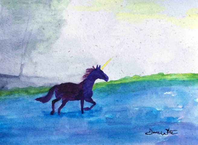 """unicorn painting"", ""unicorn art"", ""girls nursery art"""