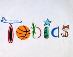"""boy's name painting"", ""boys name painting"", ""painting of a boy's name"", ""painting of a boys name"", ""boy nursery art"", ""nursery art"""